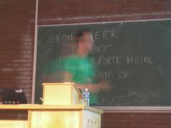 Pierre-Luc in a fast talk
