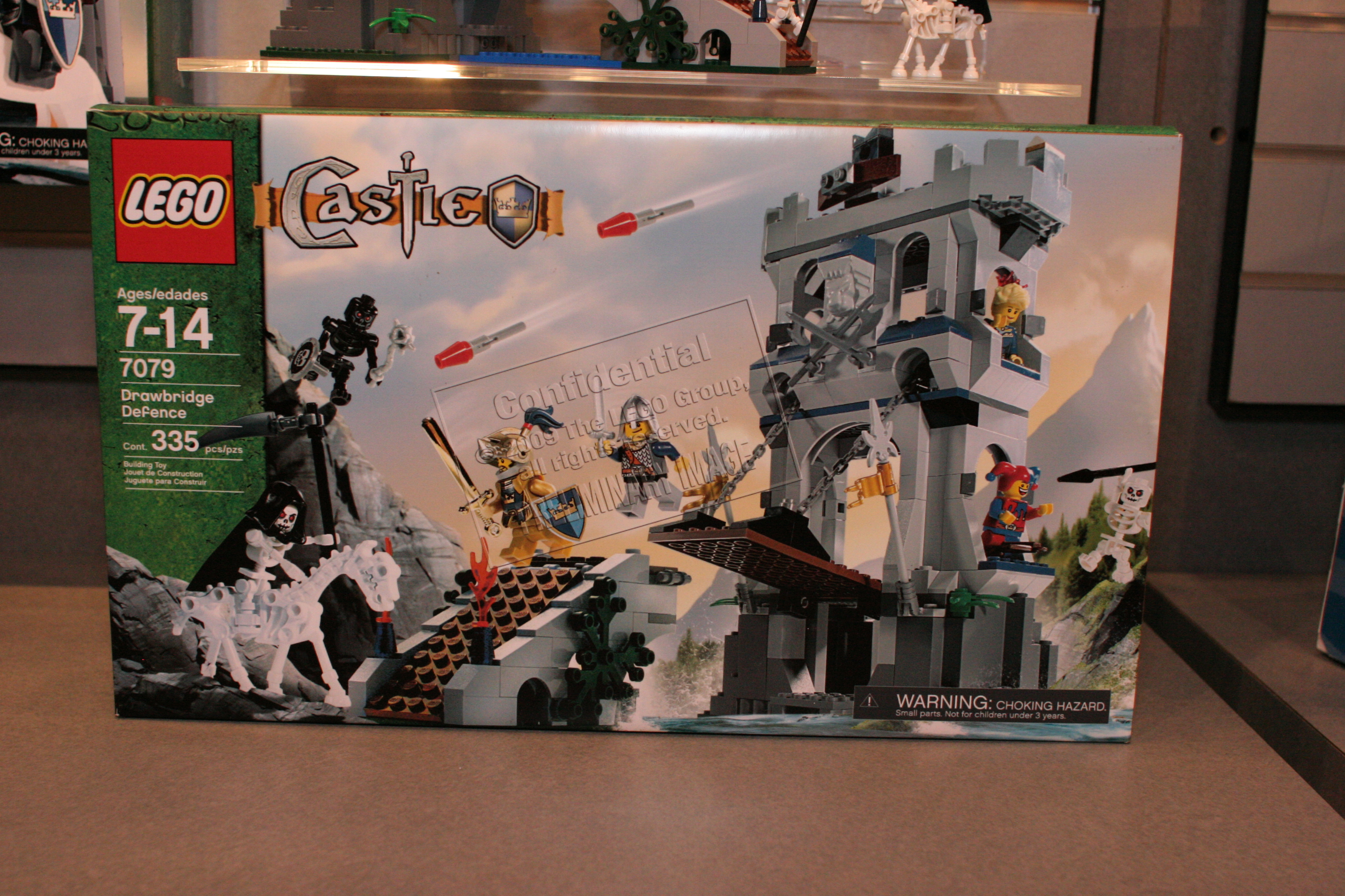 Lego Castle 2009 Drawbridge Defense 7079 Sets The Brick Time