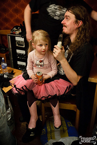 Mikael with daughter