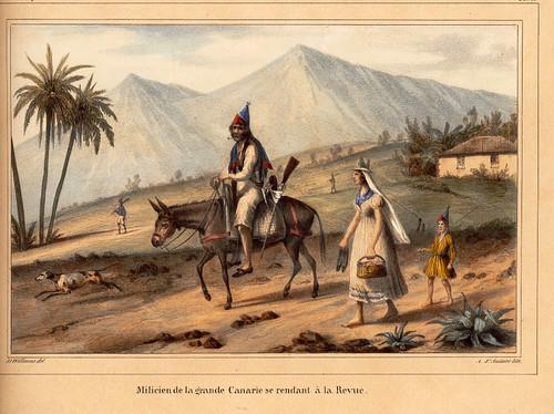 022-Soldado de Gran Canaria dirigiendose a la Revista