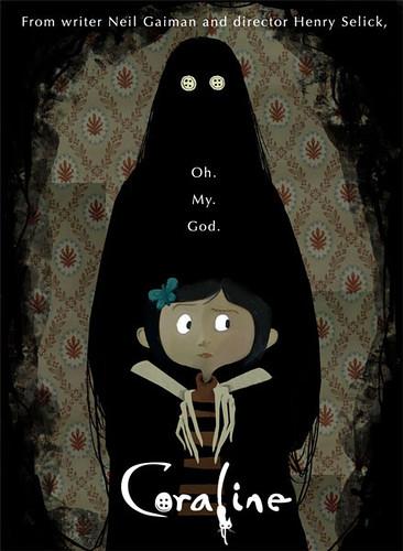 卡洛莲的漫游鬼狱 鬼妈妈 Coraline/经典电影海报