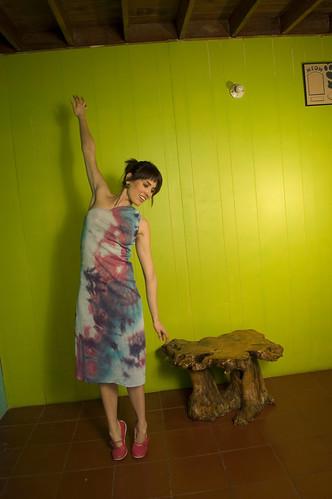 vestido: arcoiris
