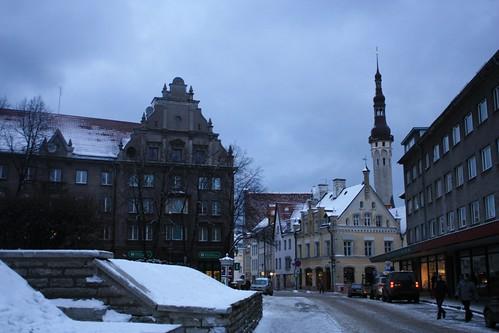 Tallinn old town, Harju Street