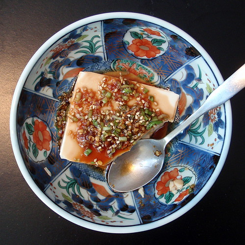 The Cooking of Joy: Warm Tofu with Spicy Garlic Sauce