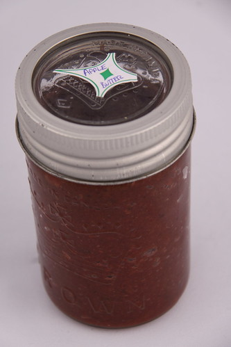 Julie's Apple Butter and beautiful Crown Jar