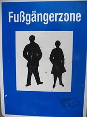 Fussgaengerzone