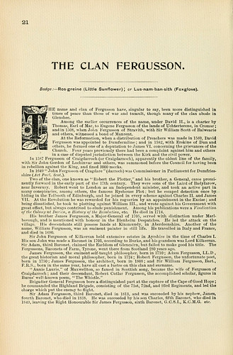 010- Descripcion Clan Fergusson