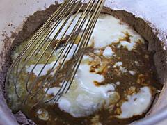 Dark Chocolate Mocha Cupcakes - Wet Over Dry