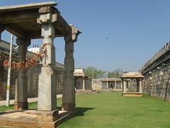 Ranganathaswamy Temple Courtyard (Sowmya Shankar) Tags: temple mysore srirangapatna ranganathaswamy