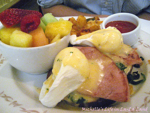 The Farm of Beverly Hills- Eggs Benedict