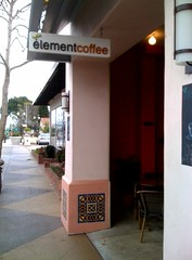 Element coffee - local, hip, better than sbux