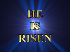 HE IS RISEN - Happy Easter - Christian wallpaper background ( David Gunter) Tags: blue light black art church easter happy death freedom worship heaven god background faith jesus christian baptist bible creator starburst fact forgive bibleverse forgivness resurrectionday christianwallpaper christianbackground christianwallpaperbackground