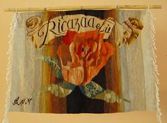 Zapotec Weaving Oaxaca (Teyacapan) Tags: roses love museum amor crafts artesanias tattoos oaxaca museo rosas weaving mexicanas tejidos zapotec tequiero coyotepec santaanadelvalle
