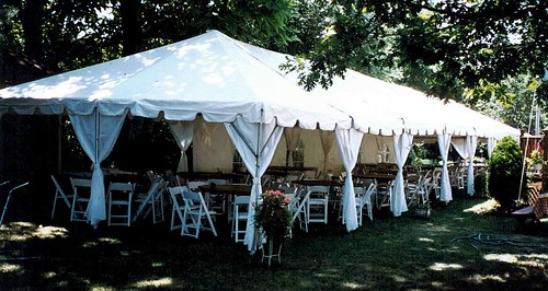 Wedding Tent Decorating Ideas