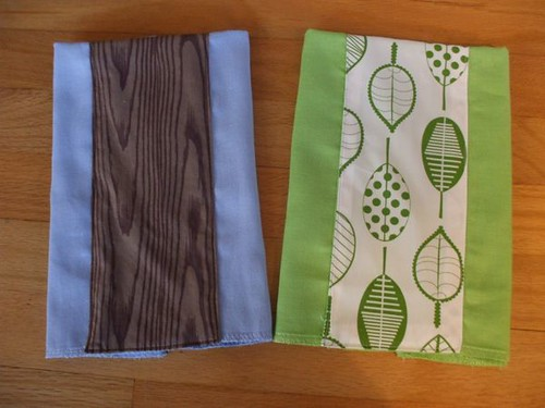 burp cloths!