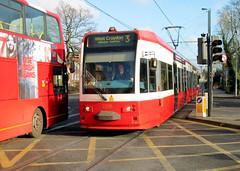 Croydon Tramlink (R~P~M) Tags: uk greatbritain england london train metro unitedkingdom tram railway lightrail croydon tramlink croydontramlink