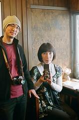 makino&yocca (chizuru-bis) Tags: film osaka  pentaxmz5 groupphotoexhibition oneplus1gallery