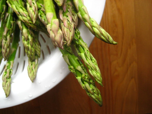 the obligatory asparagus shot.