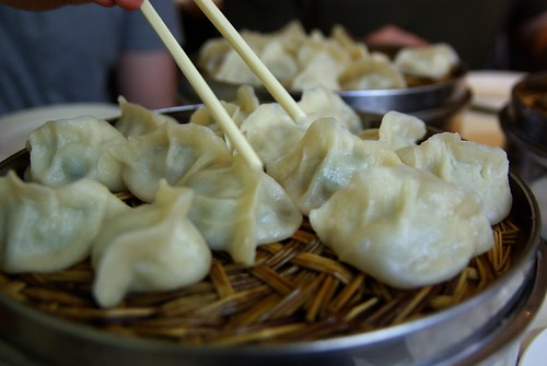 Dumplings at Qing Hua Yuan 青花苑, Montreal
