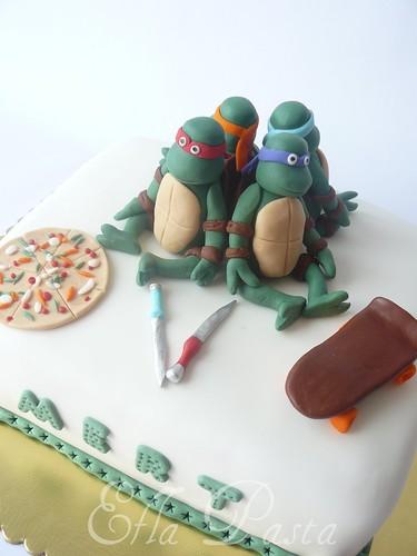 ninja turtles cake 4