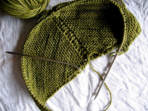 30 April : Wool Peddler's Shawl