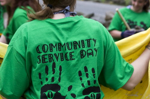 Community service day by Muffet, on Flickr