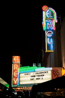 Yann Tiersen at the El Rey Theatre