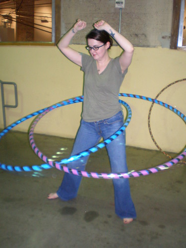 Double Hooping!