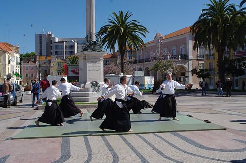 demontração na Praça do Bocage 1MAIO2009 #9
