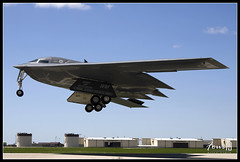 "South Carolina airborne - B-2A ""Spirit"" Stealth Bomber (MulesAFpilot) Tags: canon spirit aircraft jet missouri b2 stealth stealthbomber airforce bomber takeoff runway soe atb northrop b2bomber blueribbonwinner flyingwing b2a whitemanafb 40d flickrdiamond canon40d 509thbombwing lowobservable"