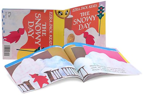Top 100 Picture Books #5: The Snowy Day by Ezra Jack Keats