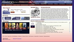 History Resource Center: U.S. home page