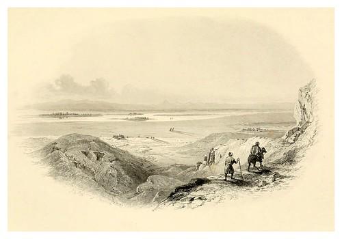 031-LLanura de Tebas-Bartlett, W. H. 1849