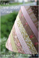 fabric lamp shade tutorial. (rachelgriffith) Tags: rachel moda patisserie honeybun modabakeshop
