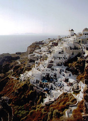 Thira 17 (drtana) Tags: sea water landscape coast aegean santorini oia cyclades thira greece2002     hellas2002