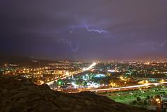 (Mashhadi Vahid) Tags: sky iran lightning mashhad mashad