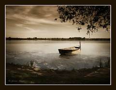Automne, le printemps de l'hiver... (Jerome Mercier) Tags: leica sky cloud brown color tree water monochrome river landscape boat eau lac berge ciel frances nuage bateau paysage marron arbre couleur brume 43 barque masterpieces saison blueribbonwinner coth mywinners abigfave leicadigilux3 digilux3 platinumphoto theunforgettablepictures platinumheartaward goldstaraward flickrunitedaward jeromemercierphoto jmbook photocreativity bookjm