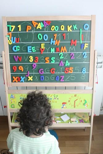 familia de letras