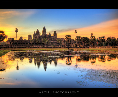 The Dawn of Angkor Wat :: HDR