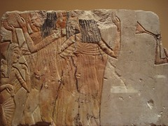 More Amarna Party Musicians (meechmunchie) Tags: ancient egypt revolution egyptian 18thdynasty akhenaten tutankhamen ancientegypt tutankhamun tutankhamon thutmose newkingdom amarna tuthmose talatat akhetaten rammeside atenist egyptiancourt