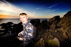 Cacs @ Portsoy (craigr (Craig Scott)) Tags: sunset sea portrait sky beautiful scott coast scotland rocks aberdeenshire shoreline shore craig 2009 callum moray firth craigr cacs99 portsoy banffshire