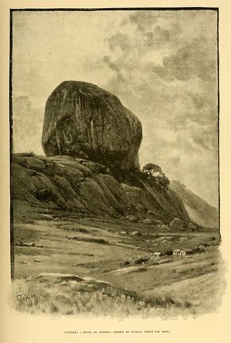 018-Roca de la cumbre en Ifandana-Madagascar finales siglo XIX