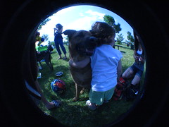 Sammy hugs (hello xtina) Tags: jerseycity bbq libertystatepark