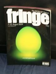 Blurry Edinburgh Festival Fringe 2009 programme