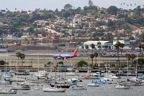 View of San Diego Airport