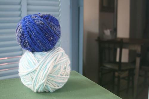 reciclando lã