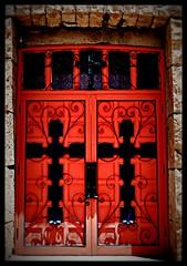 St Joseph's Apache Mission Doors