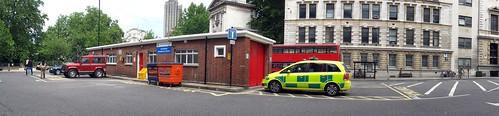 las autostitch london mike jill ambulance motorbike smithfield stbarts londonambulanceservice triumphtiger 7430 june09 southerntrip lj57uul