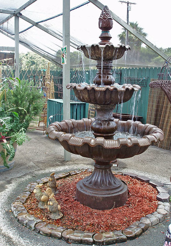 iron fountain