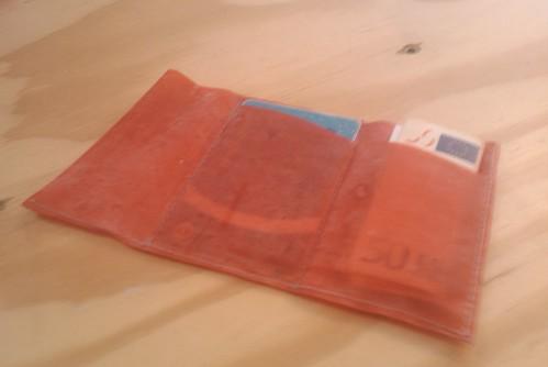 Gorgeous bioplastics wallet made at Open Design City by @jaycousins #odc #bioplastic #diy